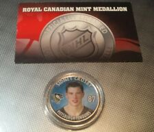 SIDNEY CROSBY 2005-2006 Royal Canadian Mint COLOR MEDALLION NHL Logo Rookie Coin