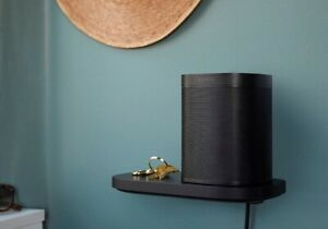 Sonos Shelf - For Sonos One / Play 1 - Black - Brand new