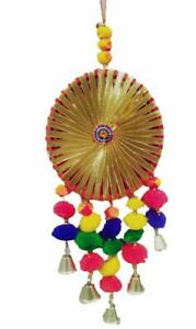 KKSM Handmade Decorative Bell Wall Door Hangings with Strings for Home Gift