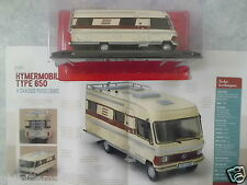 """CAMPING-CARS ALLEMAND """"L'HYMERMOBIL TYPE 650"""" (1985)-(1/43éme)."""