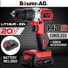 20V 1500mAh Lithium Cordless Hammer Drill Electric Masonry Drilling Tool charger