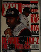 XXL Magazine August 2001 Beanie Sigel Jay-Z Kurupt Kool G Rap Tha Liks RZA