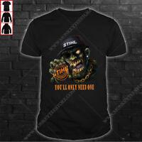 Stihl Men's US T-Shirt Top Gift