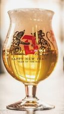 ♦Verre bière Duvel Collection HAPPY NEW YEAR 2020 DUVEL GLASS YEAR OF THE RAT  ♦