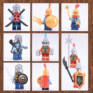 10Sets Mini Ancient Soldier Weapon Cavalryman Building Blocks Toys Fit Kids Gift