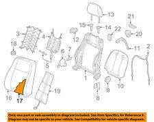 AUDI OEM 17-18 A3 Front Seat-Back Cushion Foam Pad Left 8V7881775M