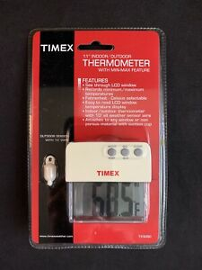 """Timex TX5050 1.1"""" Indoor/Outdoor Thermometer w/ Min-Max Feature"""