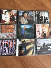 Country Music Little Texas Randy Travis Shania Twain Mavericks - Lot Of 9 Cd's