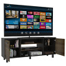 Kaia Collection TV Stand Holds up to 65 in Tvs, Industrial Look RXU3936