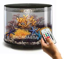 biOrb TUBE 35L BLACK MCR LED AQUARIUM LIGHTING FILTER ALL-IN-ONE FISH TANK