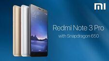 "XIAOMI REDMI NOTE 3 Pro 5,5"" FHD LTE Smartphone Snap650 Global DE BD20 OVP NEUw!"
