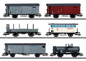 "Märklin 46520 Güterwagen-Set zum ""Köfferli"" 39520 der SBB  6-teilig #NEU in OVP#"