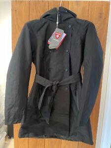 Helly Hansen Wesley Jacket II Trench Womens Waterproof Black size Small RRP £180