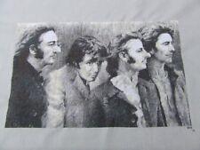 Black and White Beatles Band DIGITAL Cross Stitch Pattern Chart Fiber Art
