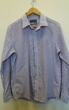"Mens Burton Shirt Collar Size 16"" Purple  <J8207"