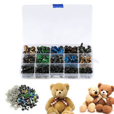 264x Color Plastic Safety Eyes For Teddy Bear Doll Animal Toy Making 6~12mm w6