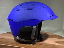 Smith Mens Variance Helmet Size Medium Matte Blue