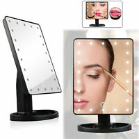 Makeup Mirror Vanity Mirror With Lights LED Magnifying Light Up Cosmetic Mirror