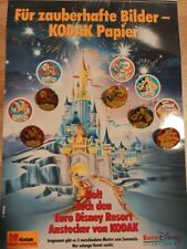 Euro Disney Kodak Official Sponsor 1992  - five complete sets  25 Pins