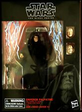 Emperor Palpatine & trono Star Wars Black Series Exclusivo HASBRO figura de acción