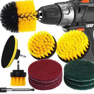 12pcs Power Scrubber Brush Kit Drill Brush Set Cordless Power Scrub Cleaning Kit