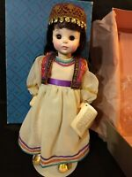 Madame Alexander 14 Inch Doll 1412 Salome Opera Series w/ original box & STAND!