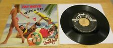 "Wipeout! by The Fat Boys & The Beach Boys 45 RPM 7"" Vinyl 1987 Tin Pan Apple"
