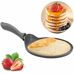 Pancake Maker Crepe Pan - Non-Stick  Frying Pan, Granite, 26 cm_cracked