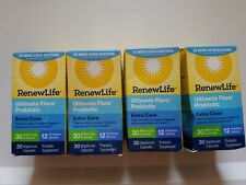 Renew Life Ultimate Flora Probiotic Extra Care 30 billion 30x4= 120 capsules