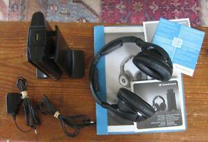 Sennheiser RS 170 Headband Wireless Headphones - Black