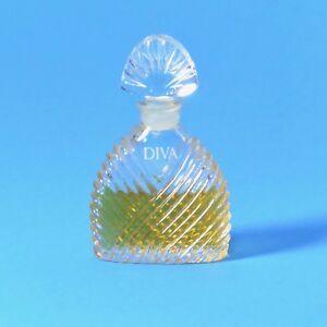 Vintage DIVA by Ungaro Perfume Eau de Parfum EdP Mini Miniature Glass bottle