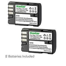 2x Kastar Battery for Pentax D-Li90 K-01 K-3 K-5 II K-5 IIS K-7 645D 645Z