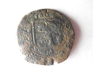 1604 SPAIN 8 MARAVEDIS - PIRATE COB COIN - Historic Coin - Lot #F20
