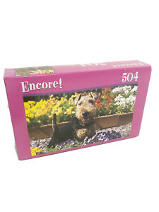 FACTORY  Encore 504 pc Puzzle  Welsh Terrier 10-3/4 In x 18 In 2007 MEGA