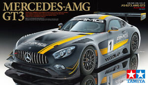 Tamiya 24345 1/24 Scale Model Sports Car Kit Mercedes-Benz AMG GT3 Coupe
