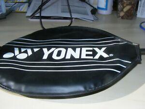 YONEX B-650 LOW TORSION STEEL SHAFTED BADMINTON RACKET C/W  COVER VGC