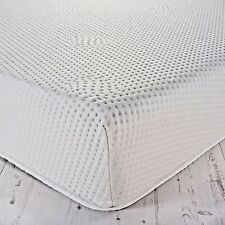 "Matress Topper Memory Foam Double 3"""" (7.5cm) Deep With Washable Zip Cover"