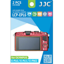 JJC LCP-EPL6 hard polycarbonate LCD Screen Protector Olympus E-PL6 E-PL5 E-PM2