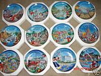 Disney 25th Anniversary Collector Plates Disney Plates