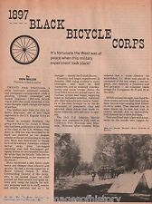 Black U. S. Army Troops Bicycle Expedition of 1897+Boos,Kennedy,Miles,Miller