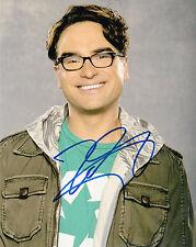 Johnny Galecki ++ Autogramm ++ Hancock ++ The Big Bang Theory 2 ++ Autograph