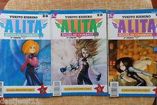 Alita, Ángel de Combate, 2ª parte, nº 3, 4 y 5, Viz Comics, Yukito Kishiro, 1995