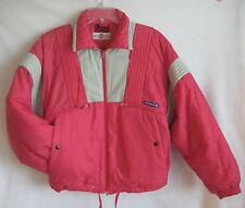 Vtg Pink Colmar Womens Ski and Snowboard Jacket Parka Size 6 Detachable Hood EUC