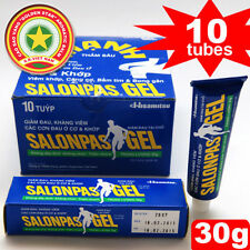 10 Patches Salonpas GEL Patch Hisamitsu Muscle Pain Reliefing Large Patch