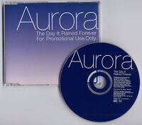 AURORA The Day It Rained Forever 2002 UK 1trk promo CD