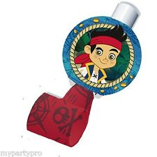 JAKE AND THE NEVER LAND PIRATES Birthday party supplies (BLOWOUTS) FREE SHIPPIN