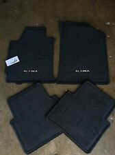 NEW OEM 2008 ALTIMA COUPE 4 PC CARPET FLOOR MAT SET - BLACK/CHARCOAL ONLY