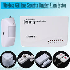 IOS/Android APP Control Wireless GSM SMS Home Security Burglar Alarm System