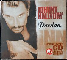 "JOHNNY HALLYDAY ""PARDON"" EDITION LIMITEE  CD"