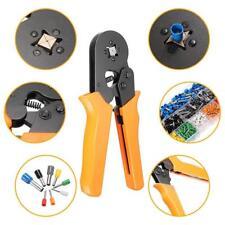 Crimp Tool Kit Ferrule Crimper Plier Wire Stripper + 800 Connector Wire-Terminal